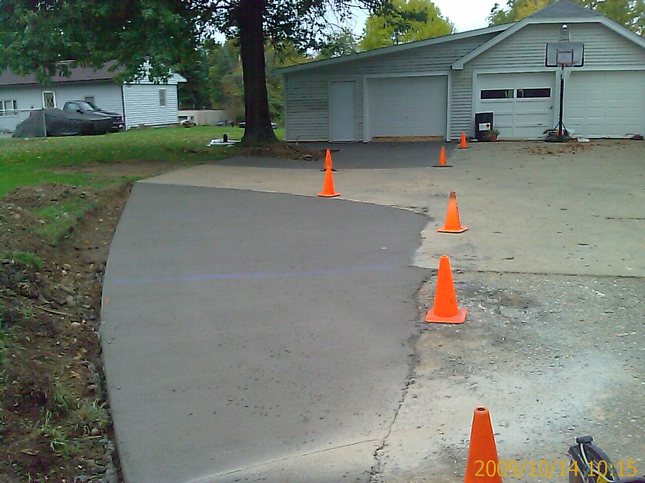 Adding On To An Existing Driveway