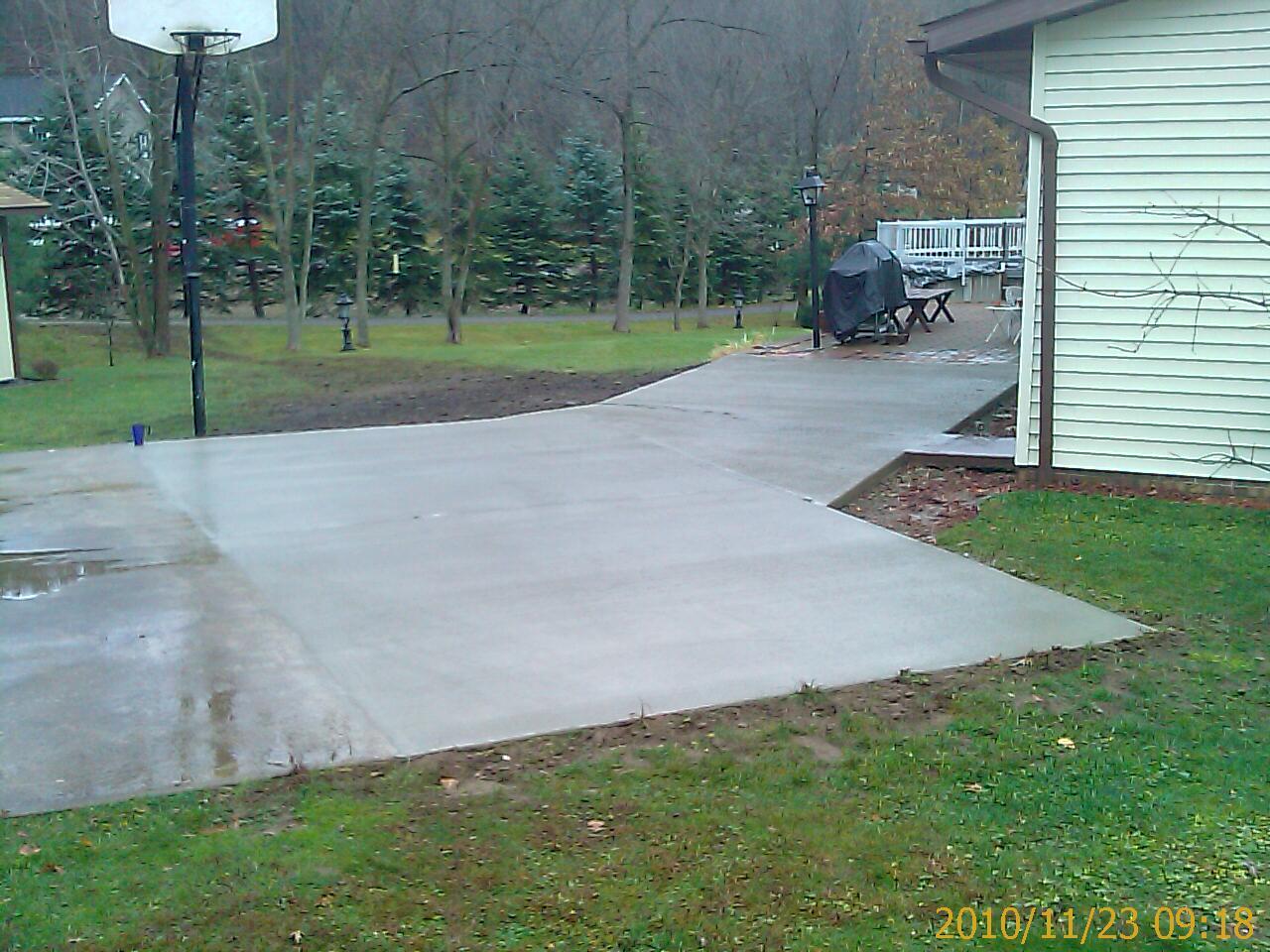 Ready To Pour New Concrete Work
